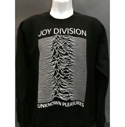 Sweatshirt - Unknown Pleasures Svart