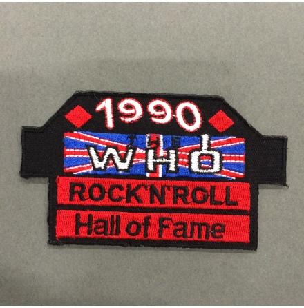 The Who - Rock N Roll Hall of Fame - Tygmärke
