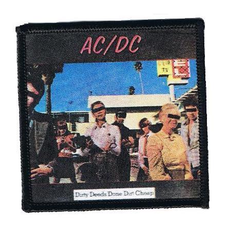 AC/DC - Dirty Deeds - Tygmärke