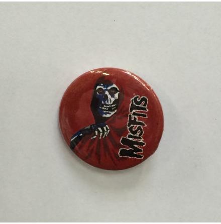 Misfits - Red Goul - Badge