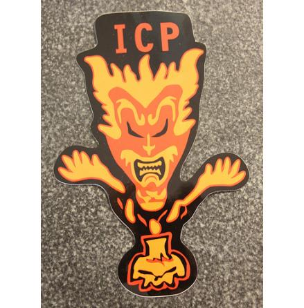 Insane Clown Posse - Röd/Orange - Klistermärke