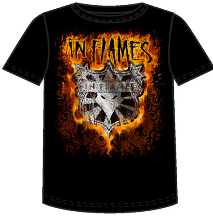 T-Shirt - Shield Flame