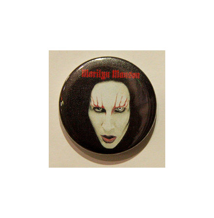 Manson Marilyn - Ansikte - Badge