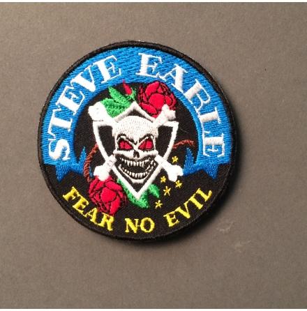 Steve Earle - Fear No Evil - Tygmärke