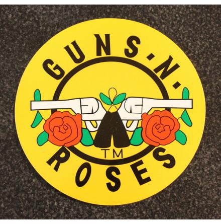 Guns N Roses - Klistermärke