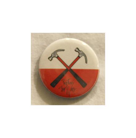 Pink Floyd - Hammare - Badge