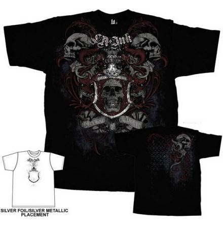 T-Shirt - Skull Crest
