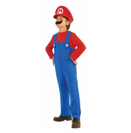 Super Mario Bros Child Costume 4-6 år