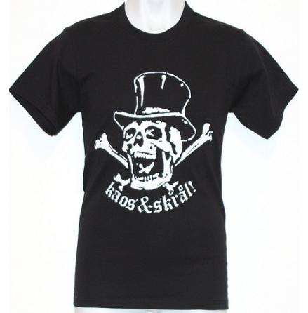 T-Shirt - Kaos & Skrål Svart
