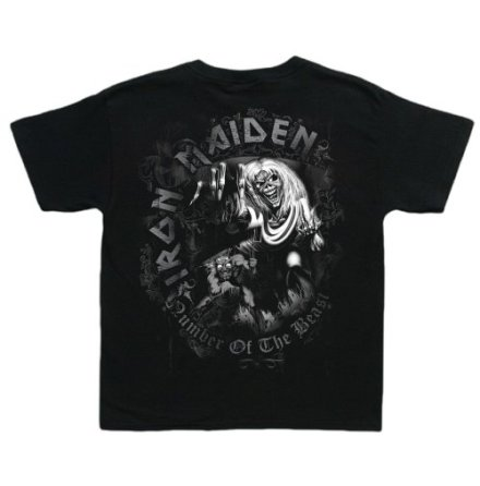Barn T-Shirt - Iron Maiden - Number of the Beast