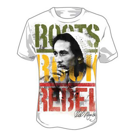 T-Shirt - Roots Rock Rebel