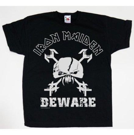 Barn T-Shirt - Iron Maiden - Beware