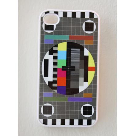 TV Bild - Vit - iPhone Cover 4/4S