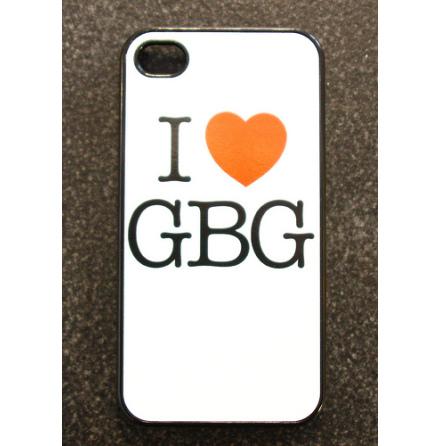 I Love GBG Svart - iPhone Cover 4/4S