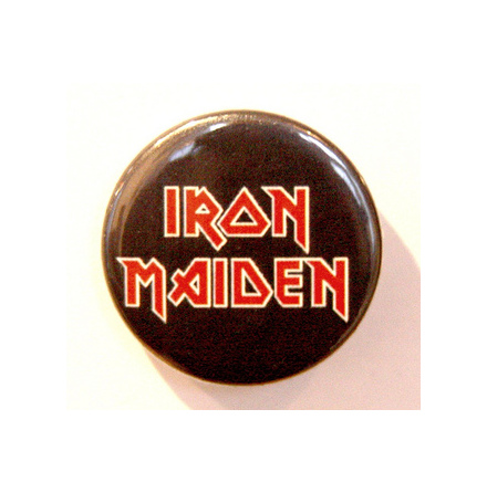 Iron Maiden - Logo - Badge