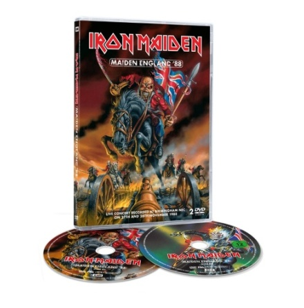 DVD - Maiden England (2dvd)