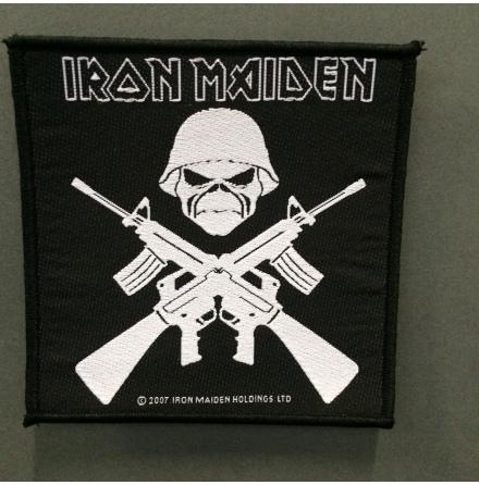 Iron Maiden - Crossed Guns - Tygmärke