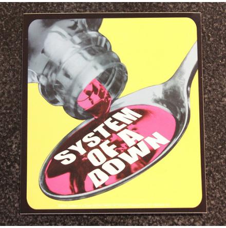 System Of A Down - Spoon - Klistermärke