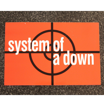 System Of A Down - Klistermärke