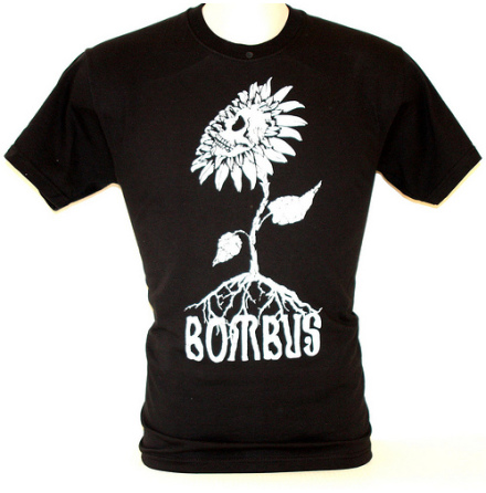 T-Shirt - Skullflower Svart