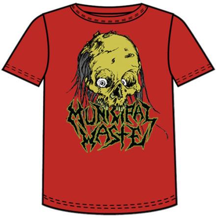 T-Shirt - Dripping Skull