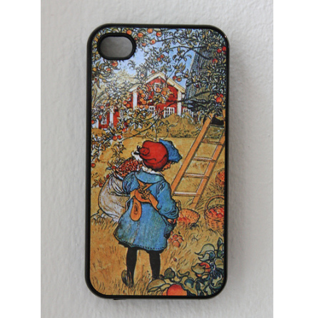 Carl Larsson - Äppelskörd - iPhone 4/4S Cover