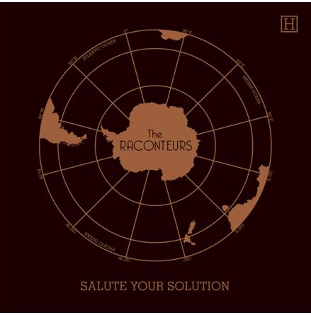 Vinyl Maxi - The Raconteurs - Salute Your Solution