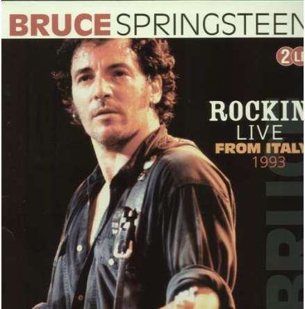 LP - Bruce Springsteen - Rockin´Live From Italy 1993