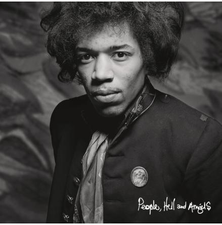 CD - Jimi Hendrix - People, Hell & Angels