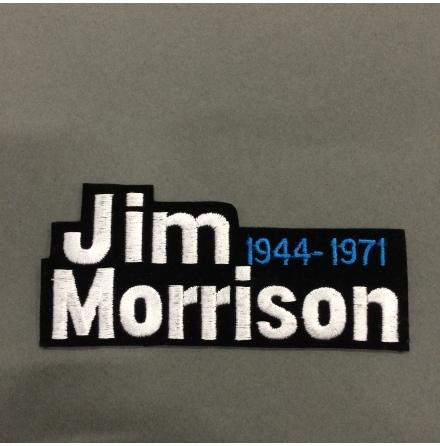 Jim Morrison - 1944 - 1971 - Tygmärke