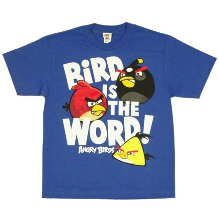 Barn T-Shirt - Bird Word