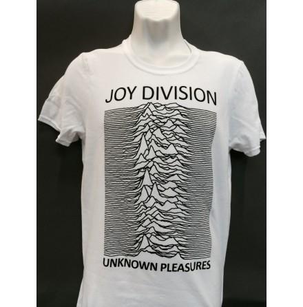 T-Shirt - Unknown Pleasures Vit