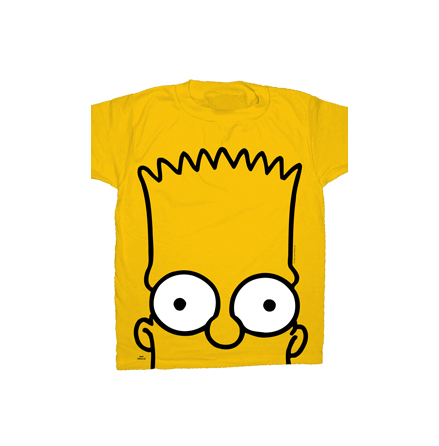 T-Shirt - Bart Big Head