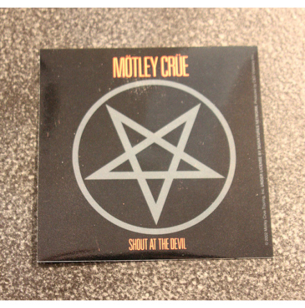 Mötley Crue - Shout At - Klistermärke