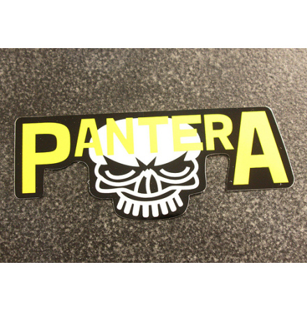 Pantera - Skull - Klistermärke