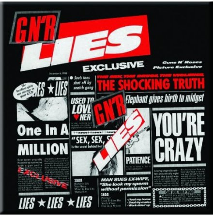 Fridge Magnet - Lies