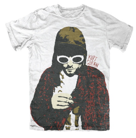 Kurt Cobain - Posterized - T-Shirt