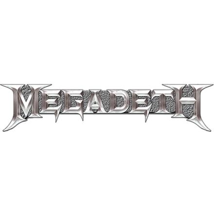 Megadeth - Chrome logo - Pin