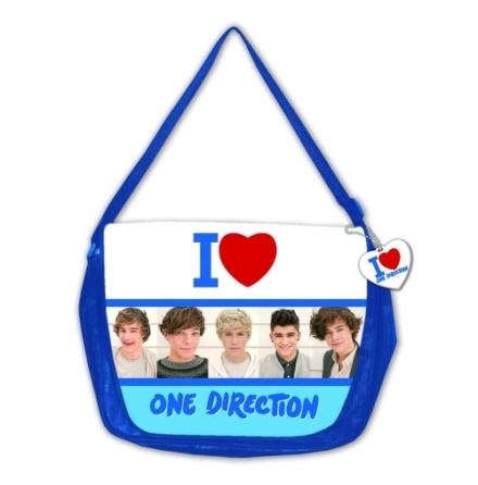 One Direction Messenger Bag: Group Shot