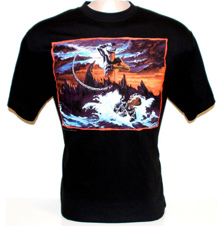T-Shirt - Holy Diver Cover Print