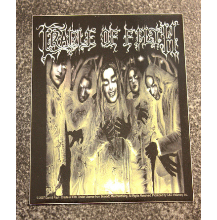 Cradle Of Filth - Klistermärke