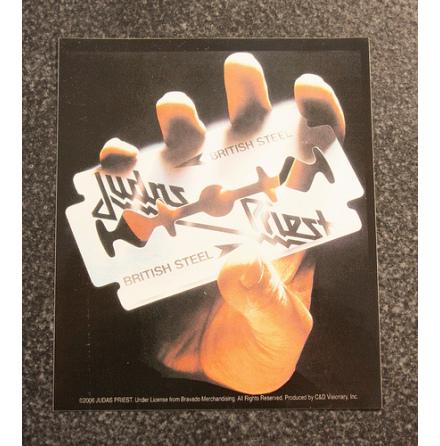 Judas Priest - British Steel - Klistermärke