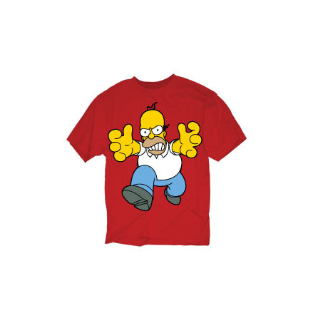 T-Shirt - Large Mad Homer