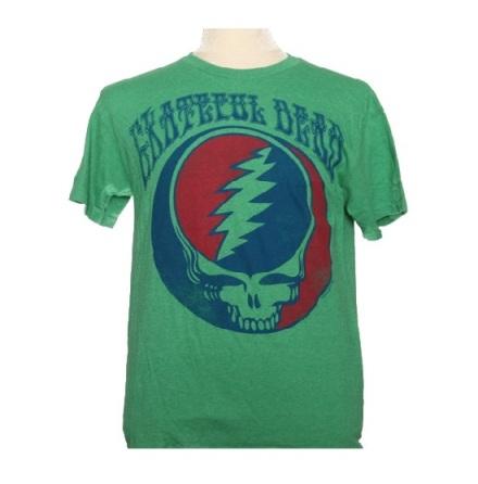 T-Shirt - Dead Head Grön