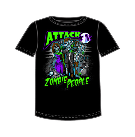 T-Shirt - Attack Of Zombie