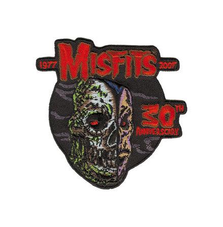 Misfits - 30Th Anniverscary - Tygmärke