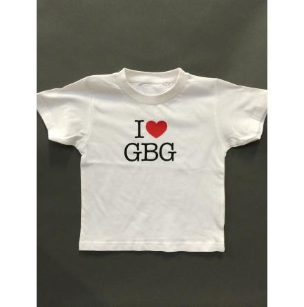 Barn T-Shirt - I Love GBG