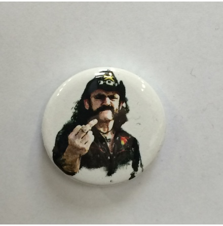 Motöhead - Lemmy - Badge