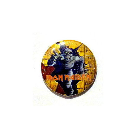 Iron Maiden - Mumie Eddie - Badge