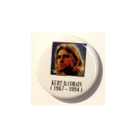 Kurt Cobain - Badge